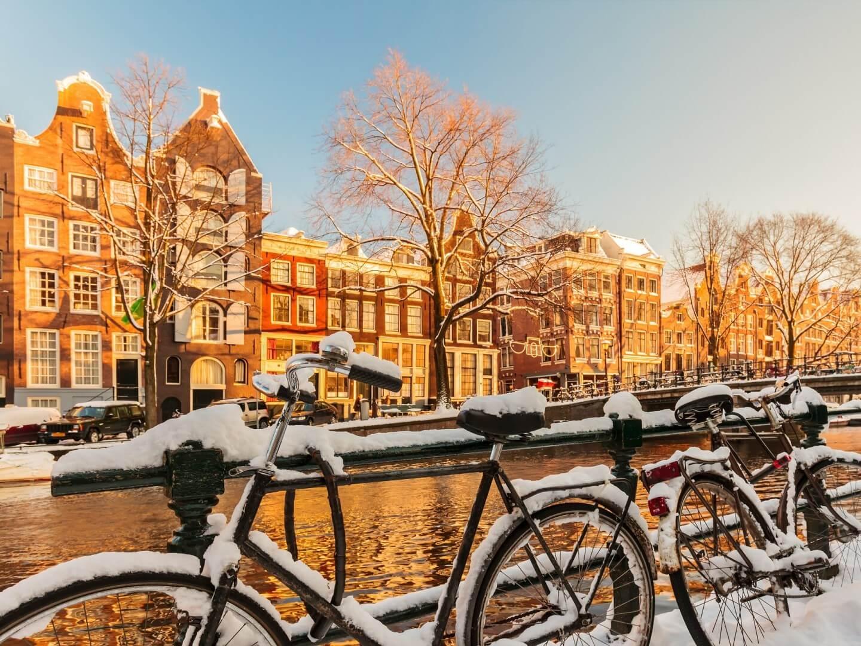 Nieve en Amsterdam