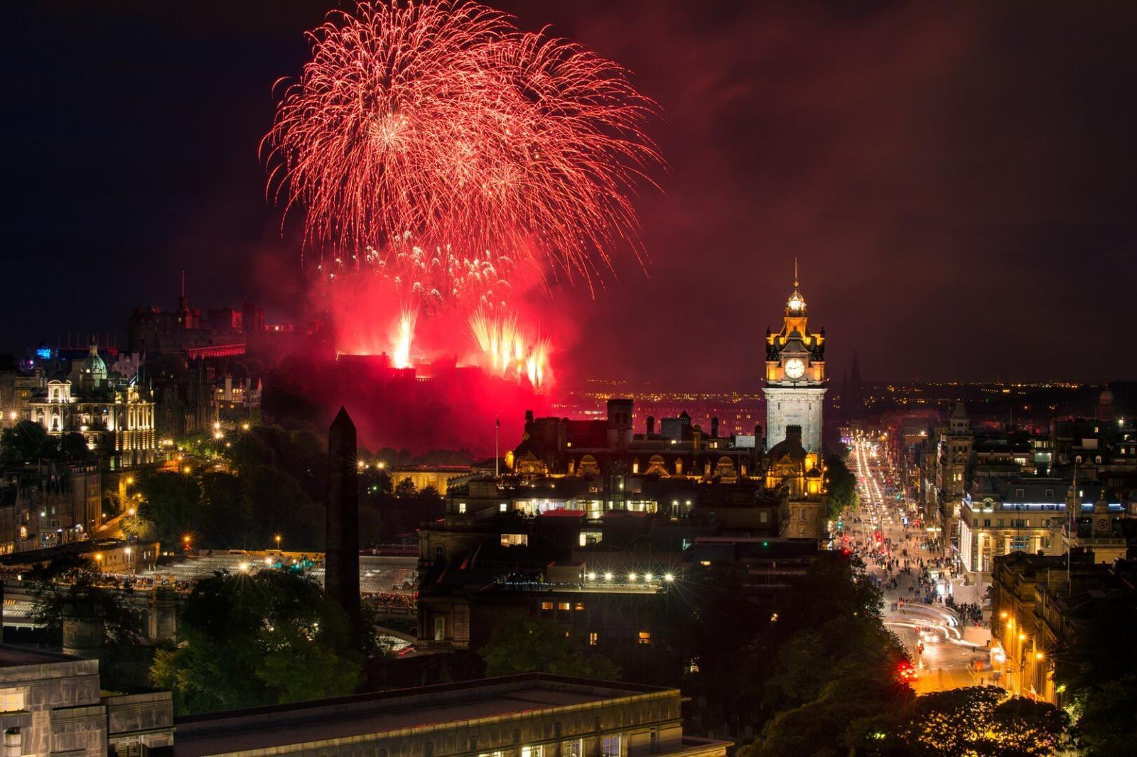 Noche vieja Edimburgo