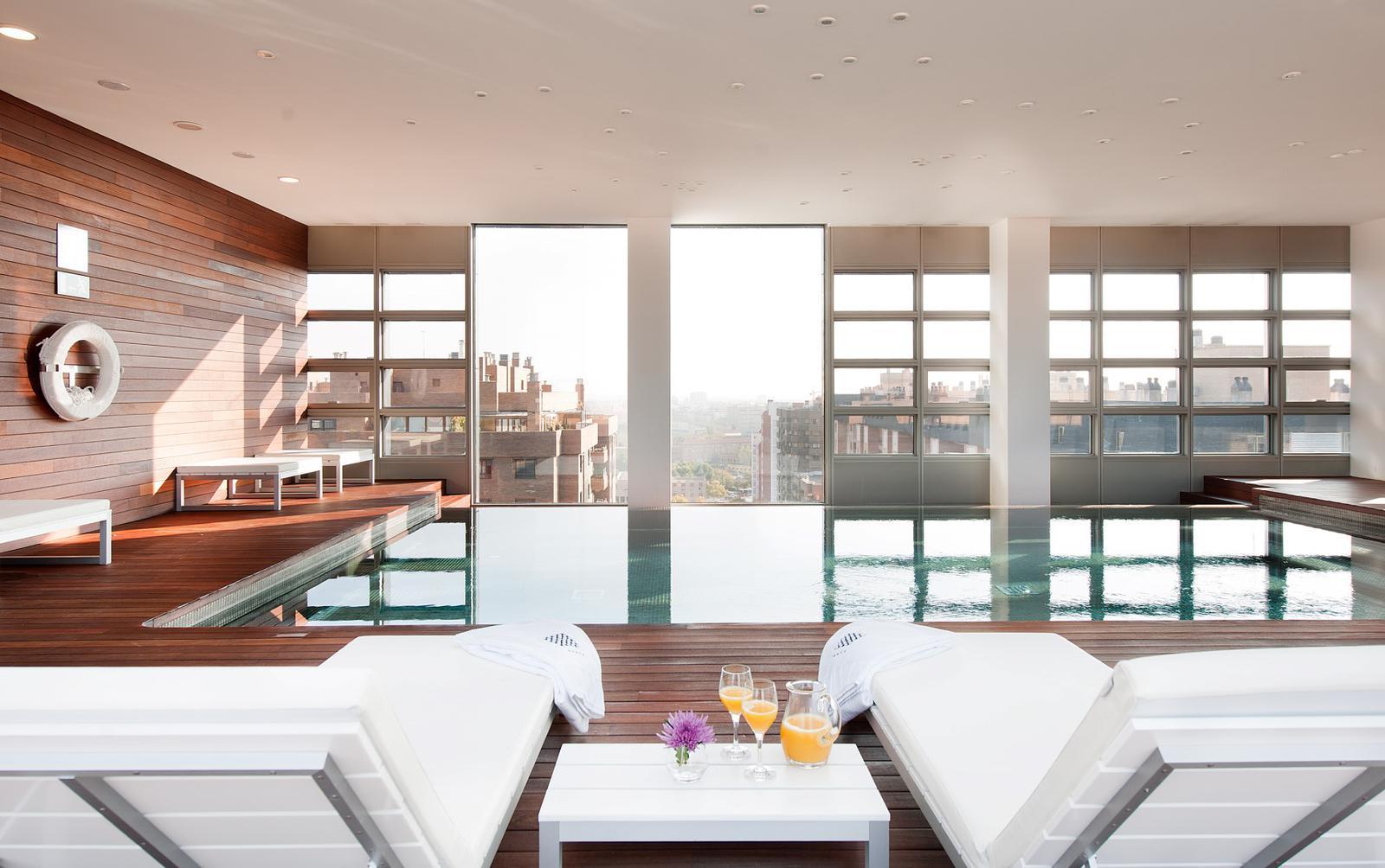 Los mejores hoteles con spa de espa a for Hoteles bonitos madrid