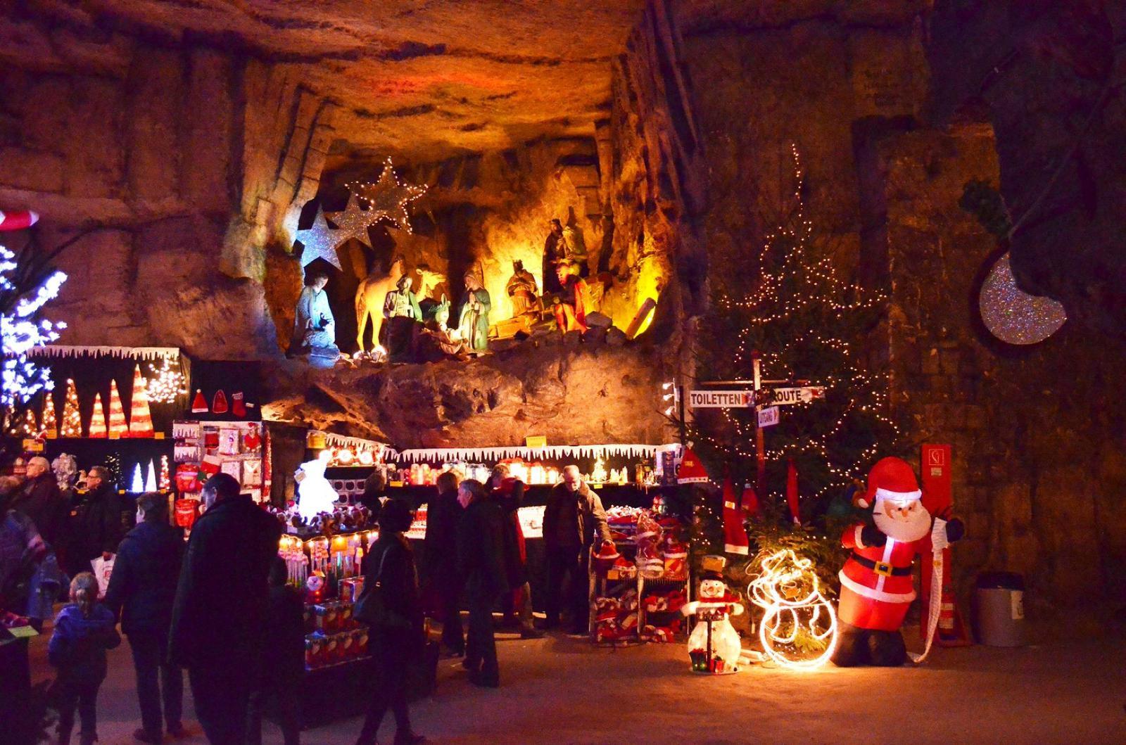 mercadillos navideños Valkenburg_Grotto