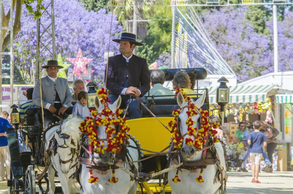 Feria de El Puerto de Santa María. fotografía de Manuel de la Varga López