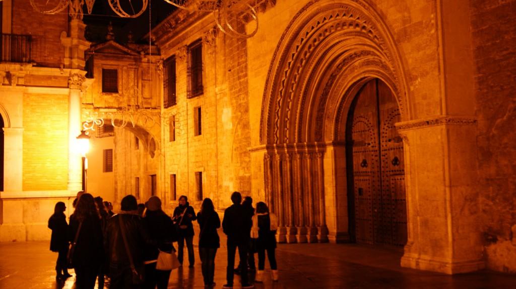 excursion nocturna por valencia