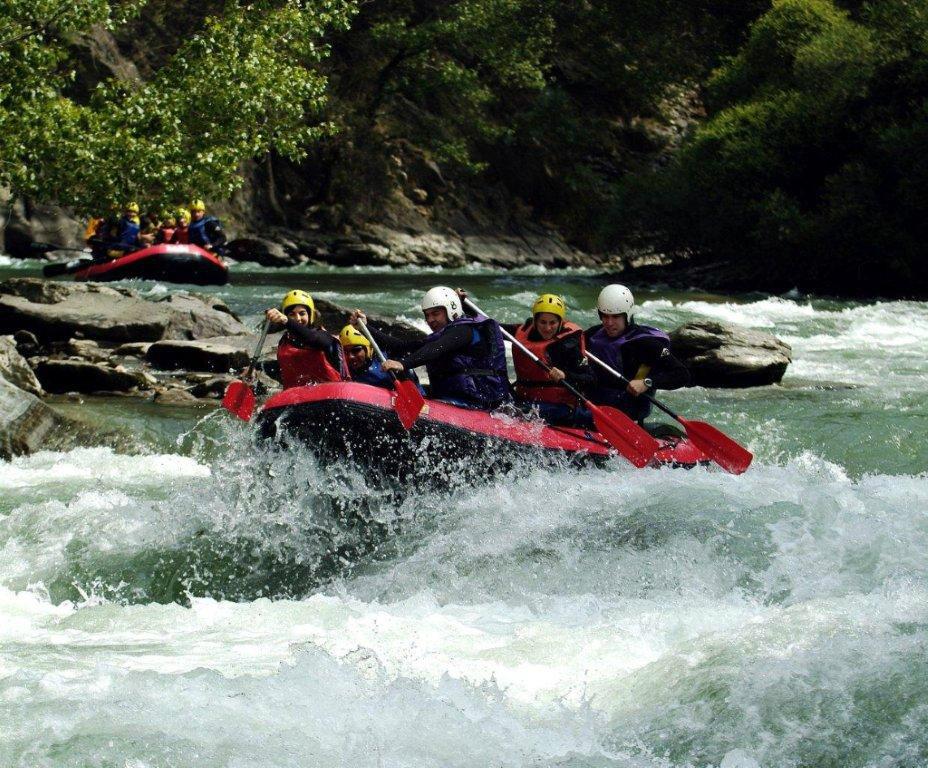rafting Llavorsí, Lleida. Turismo activo