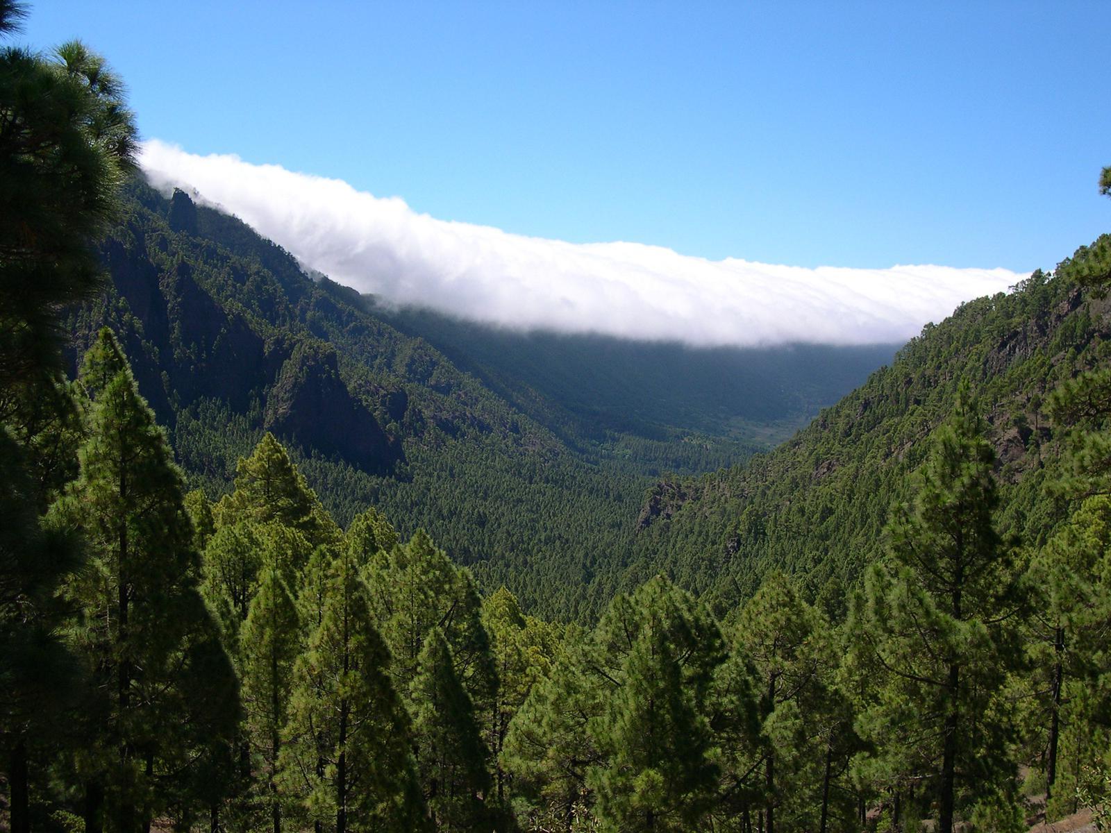 islas España Caldera de Taburiente, La Palma, Canarias