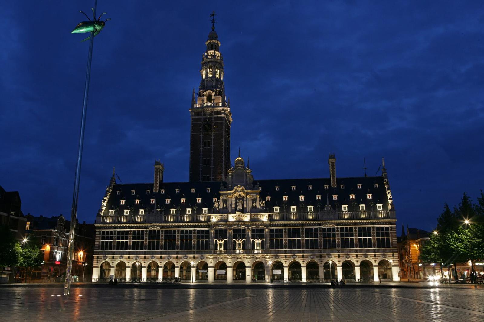 Biblioteca de la Universidad | Autor: Toerisme Leuven
