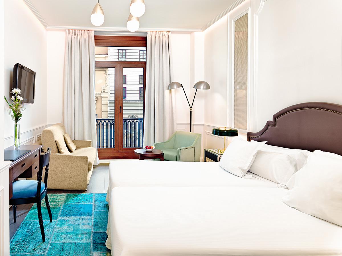 Habitación en hotel H10 Villa de la Reina en Madrid