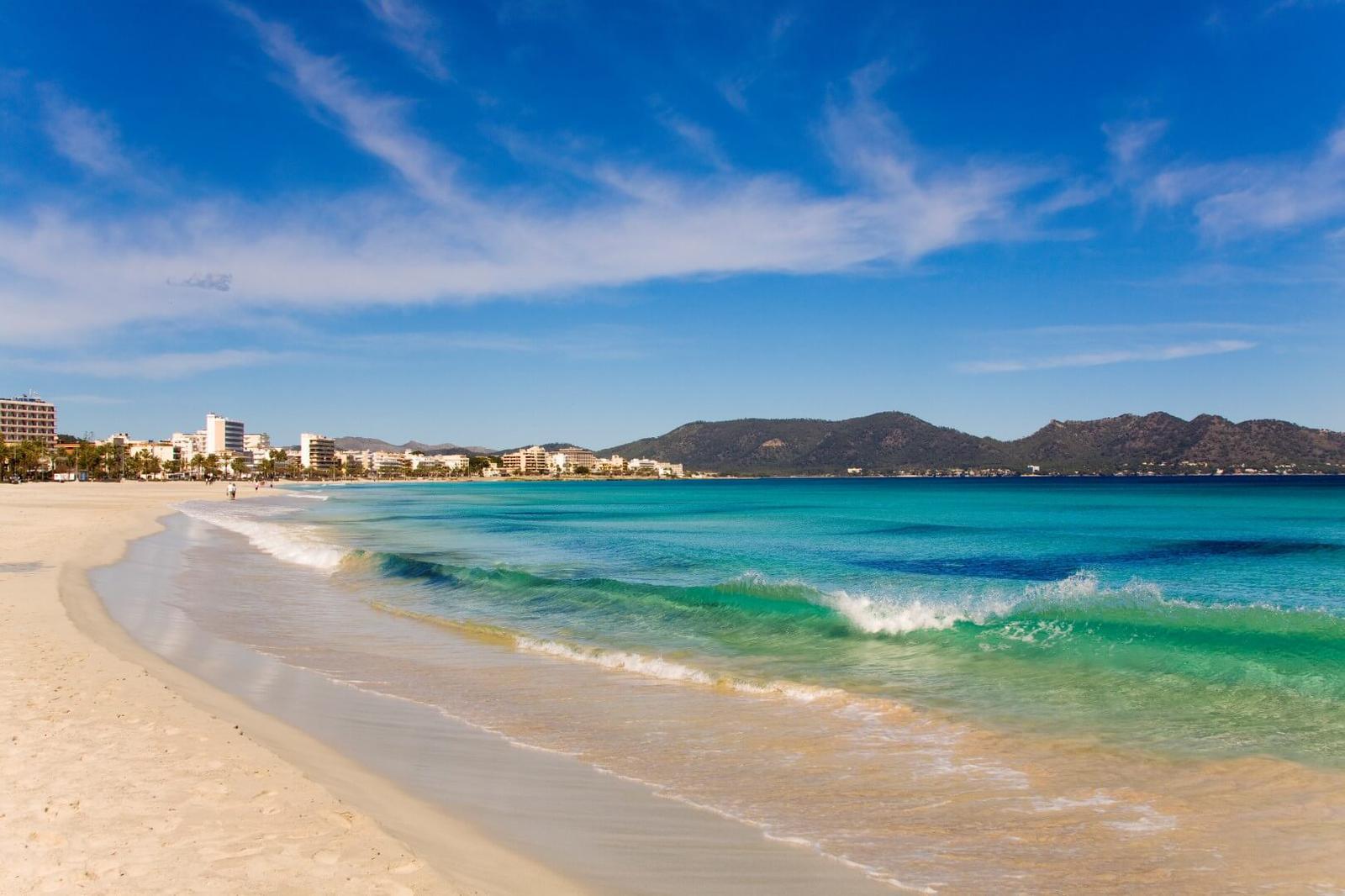 Playa en Cala Millor, Mallorca