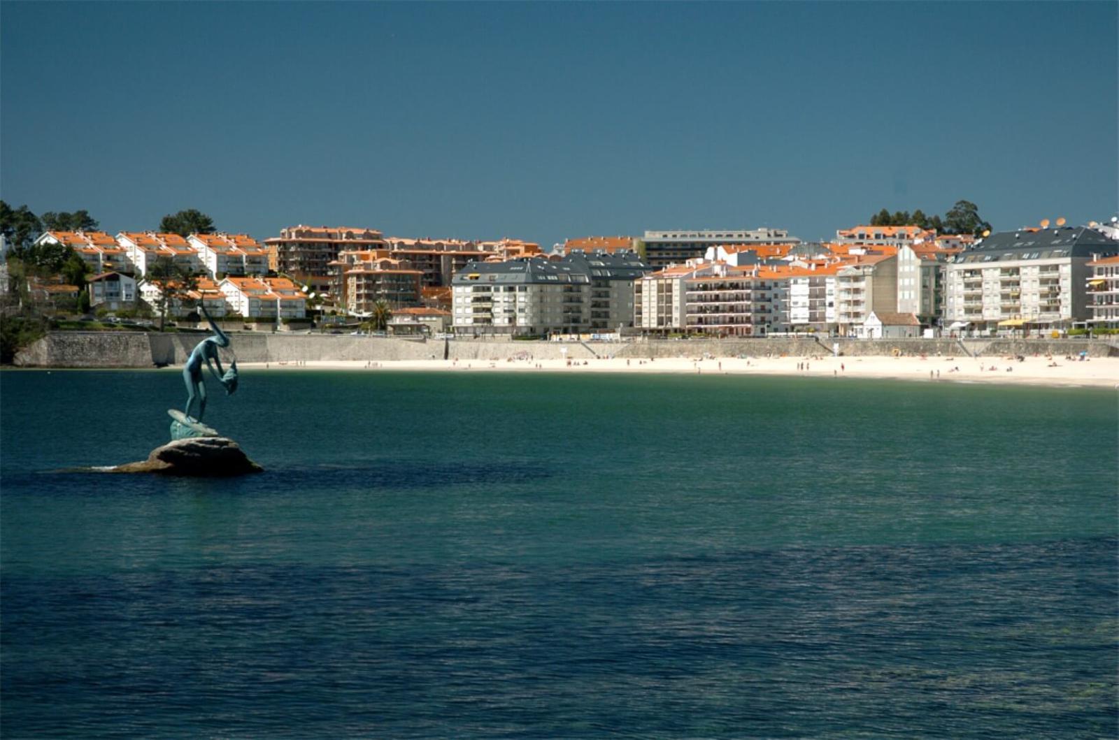 Playa en Sansenxo