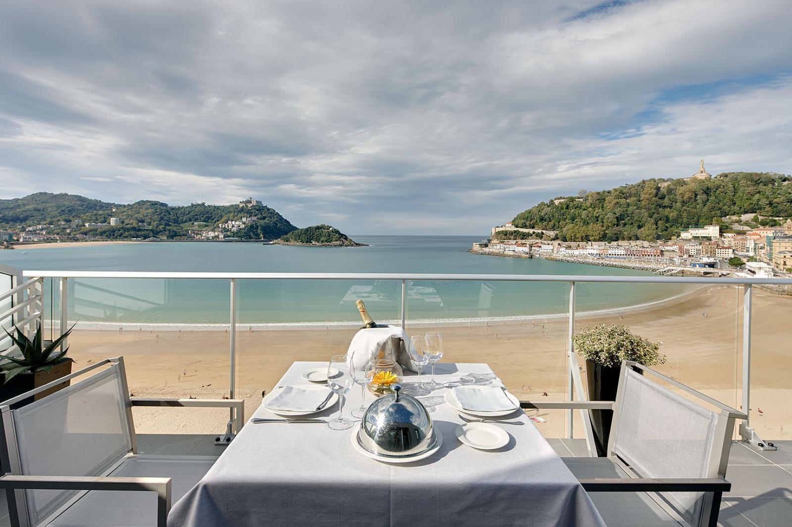 hoteles de playa Hotel Londres, San Sebastian, Gipuzkoa, Guipuzcoa, Pais Vasco, Spain