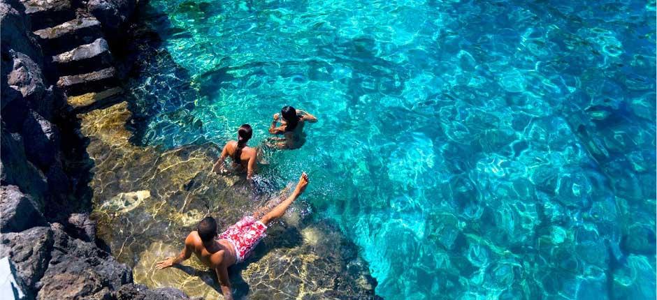piscinas naturales Charco Azul la palma