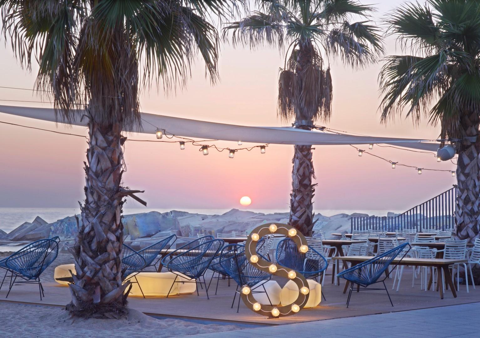 beach clubs españa w terraza