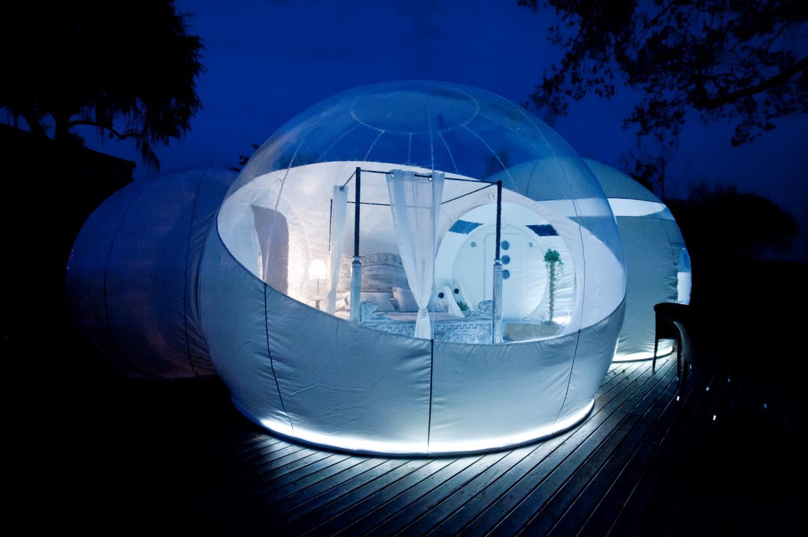 hoteles para ver las estrellas milestrelles burbuja