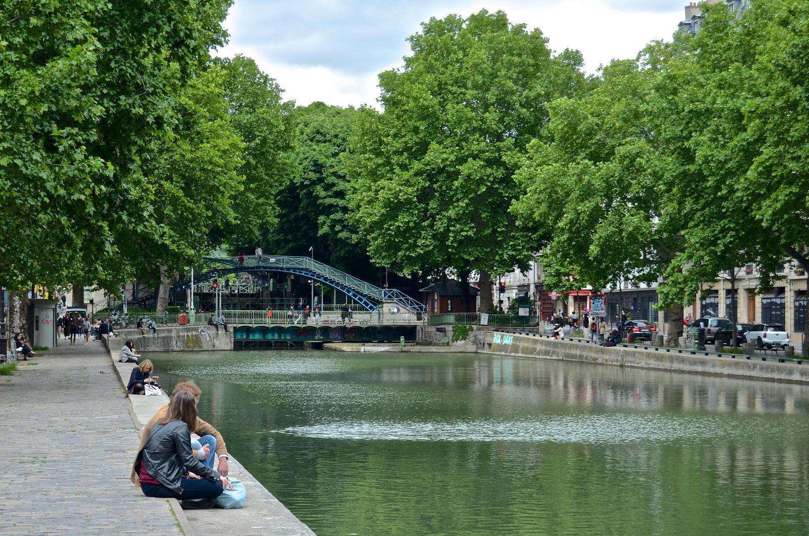 barrios europeos Canal St Martin
