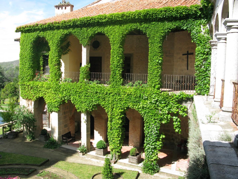 Monasterio Yuste. Lugar rodaje Carlos Rey Emperador. (C) Patrimonio Nacional