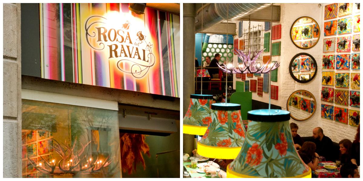 Rosa del raval Barcelona