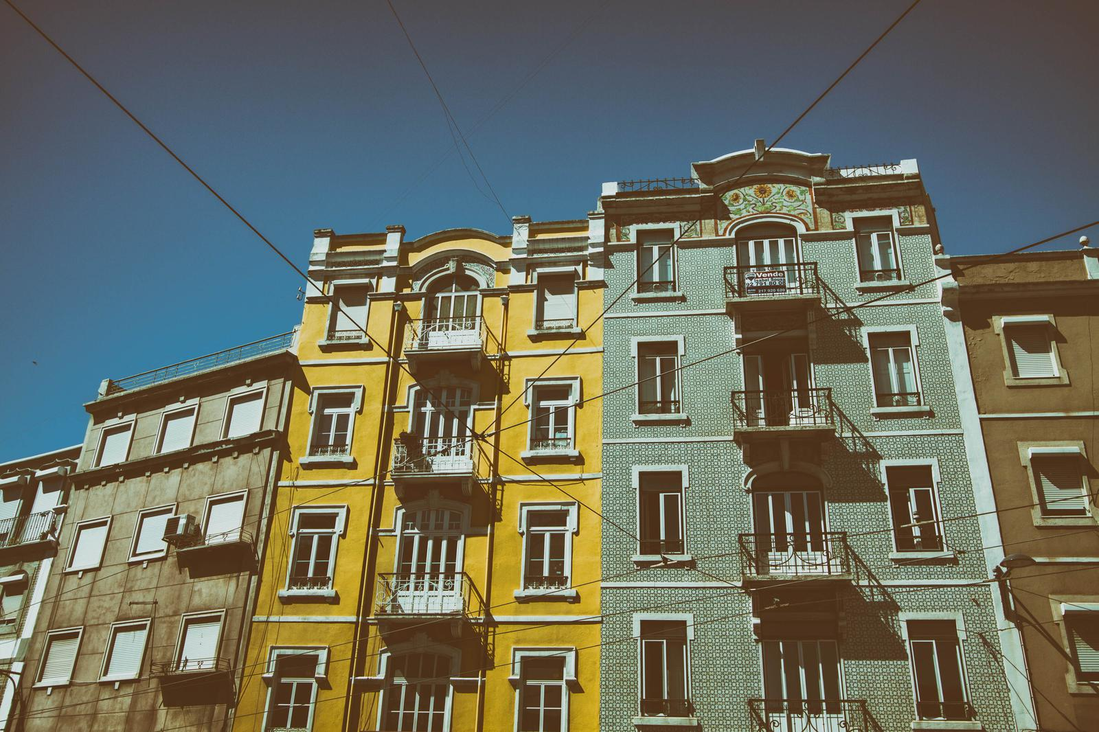 lisbon-buildings by Tom Eversley