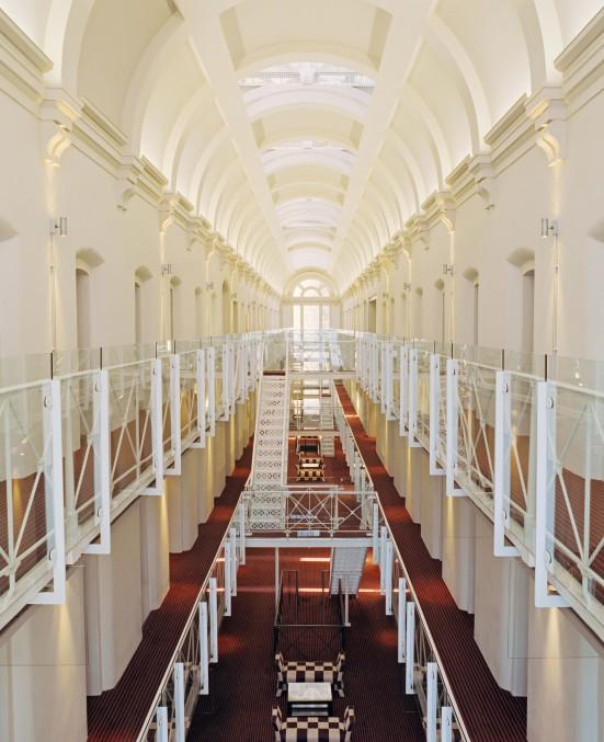 corredor hotel malmaison