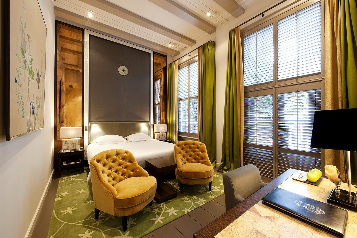 The luxury boutique hotel in Amsterdam, The Dylan.