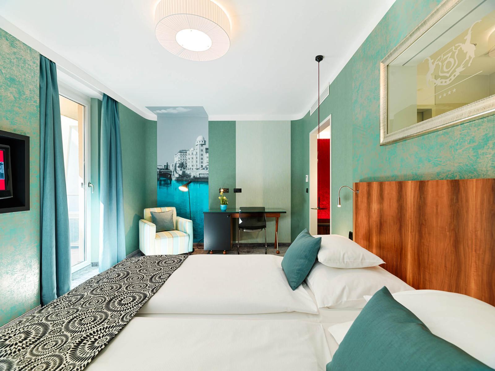 Design hotels of Vienna - Capricorno