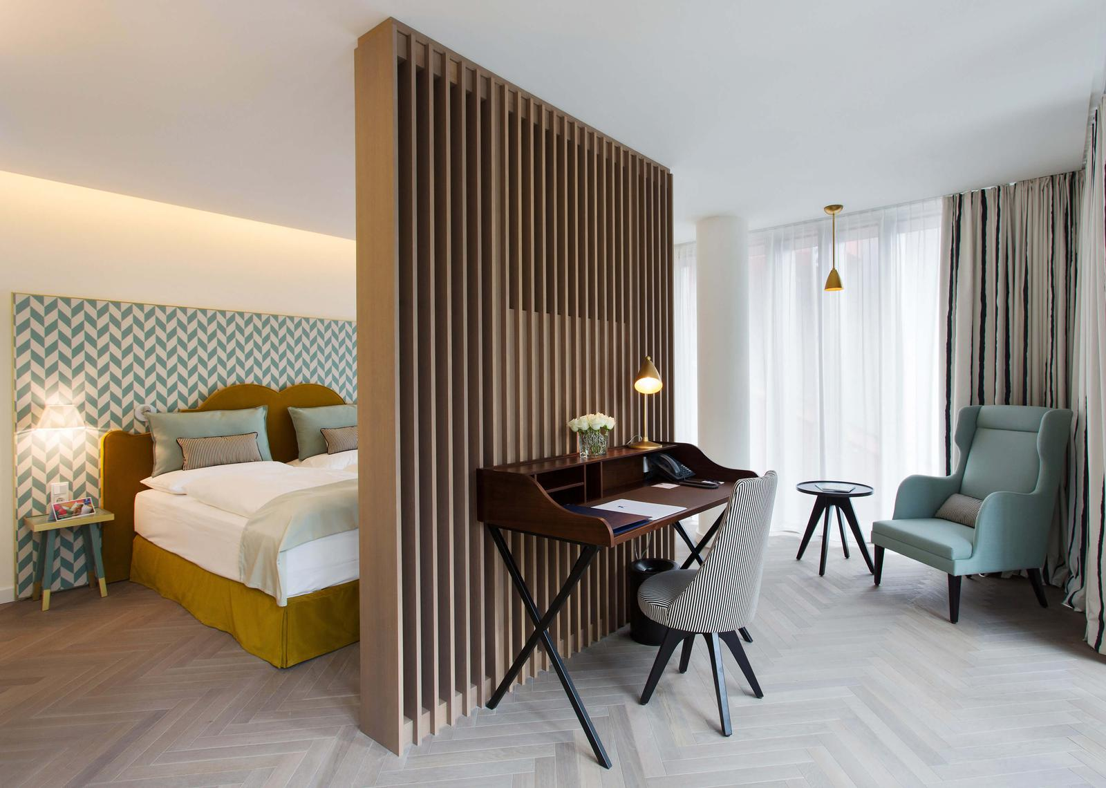 The top 10 design hotels in vienna for Design hotel rooms