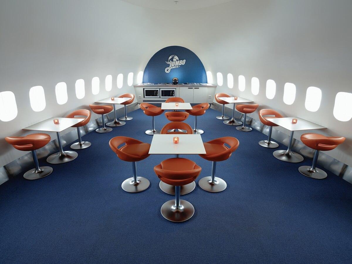 Design hotels Sweden: Jumbo Stay