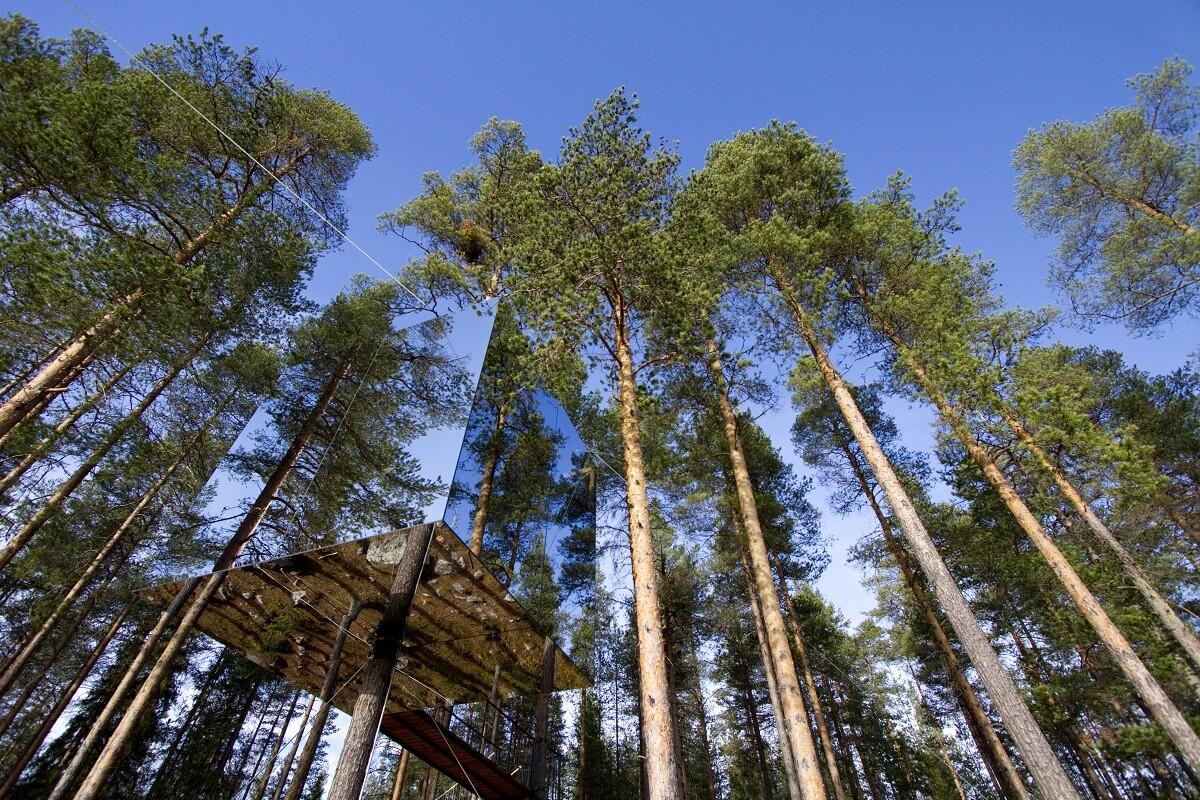 Design hotels Sweden: Treehouse