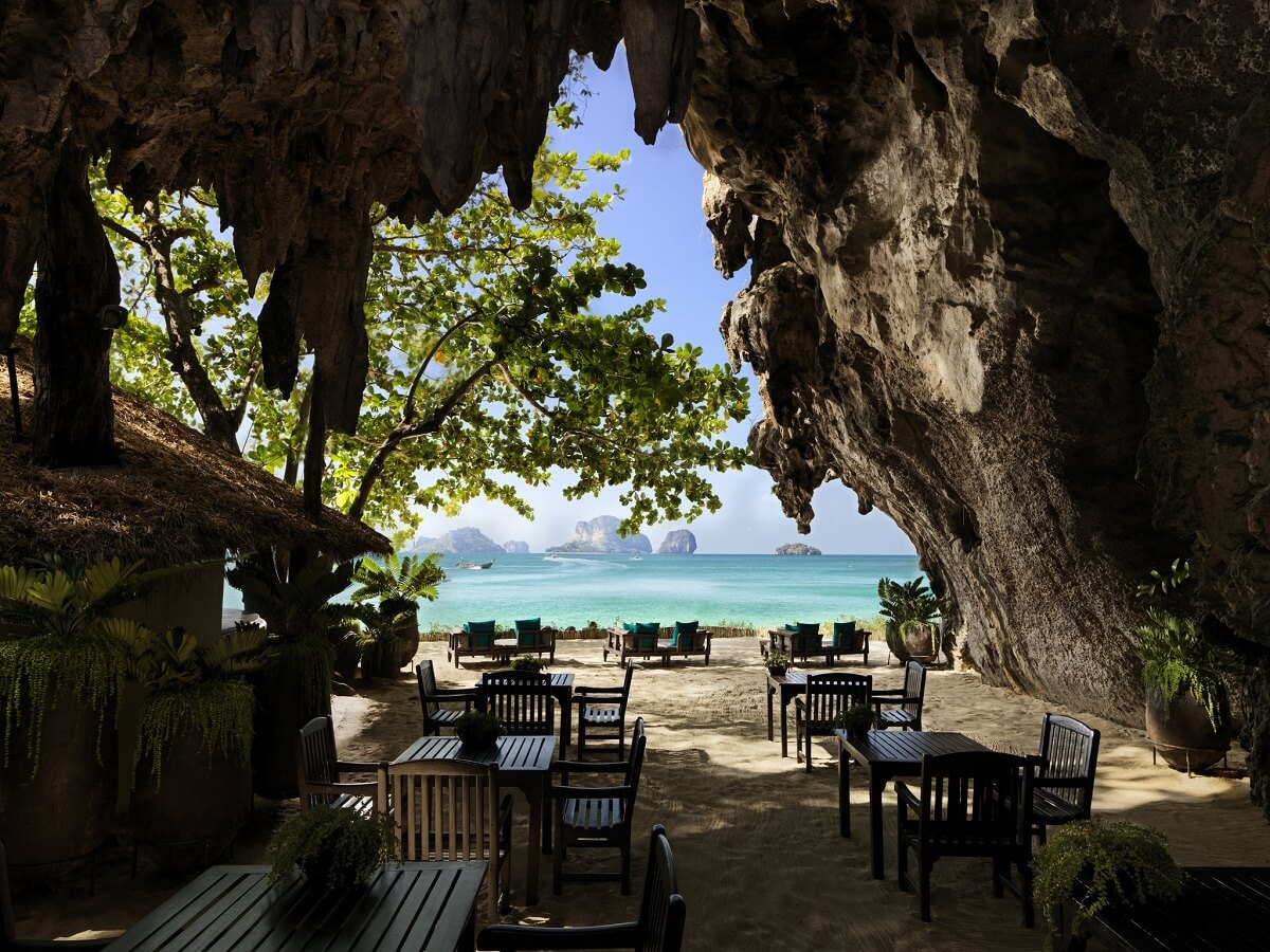 hoteles en la selva - Rayavadee - exotic resorts, Thailand