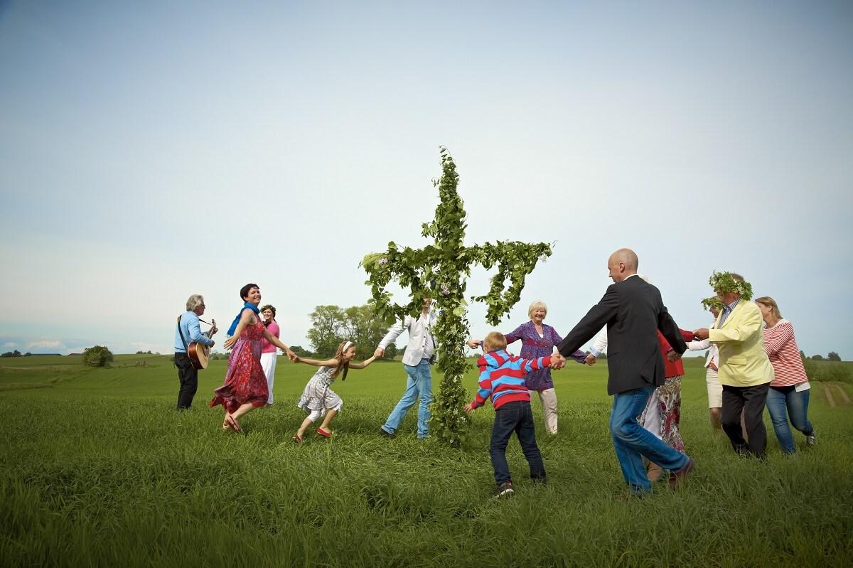 Midsommar celebrations, Sweden