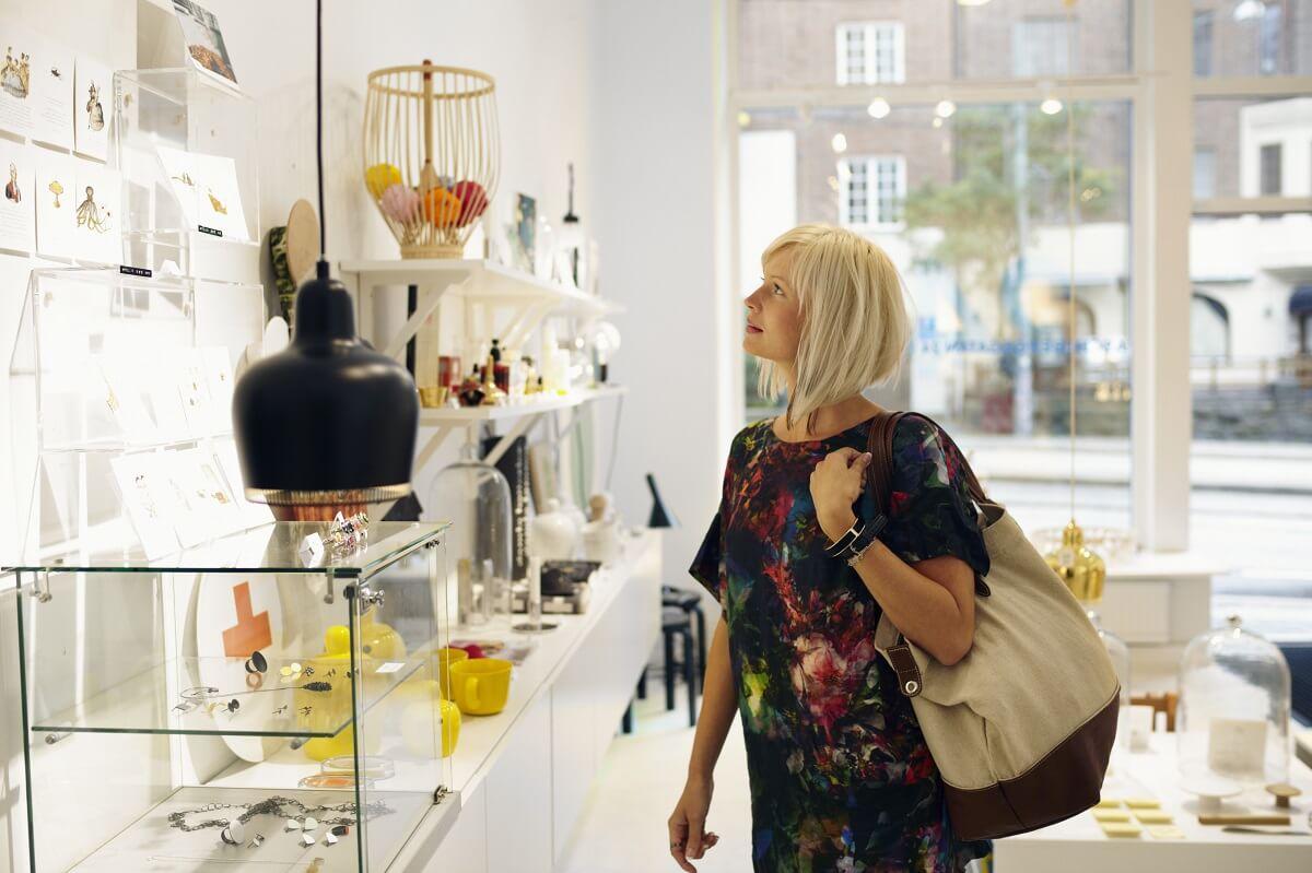 Design shopping, Gothenburg