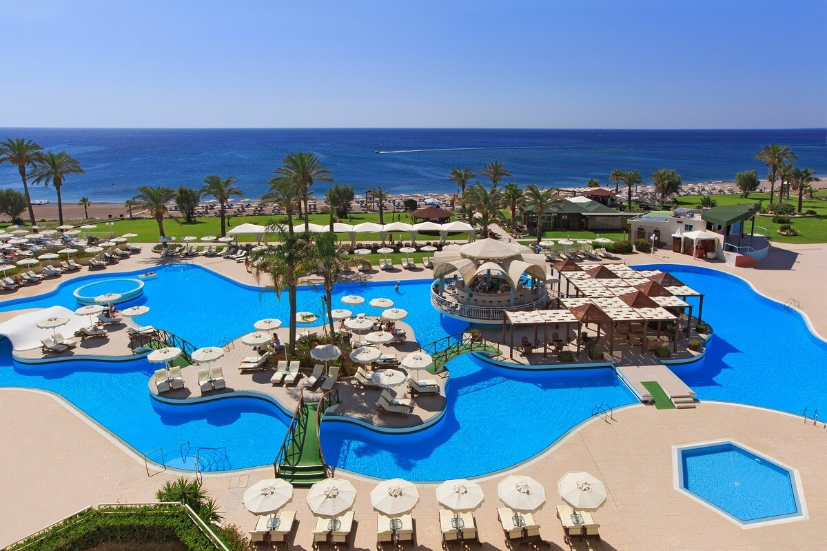 Best greek beach hotels rodos palladium
