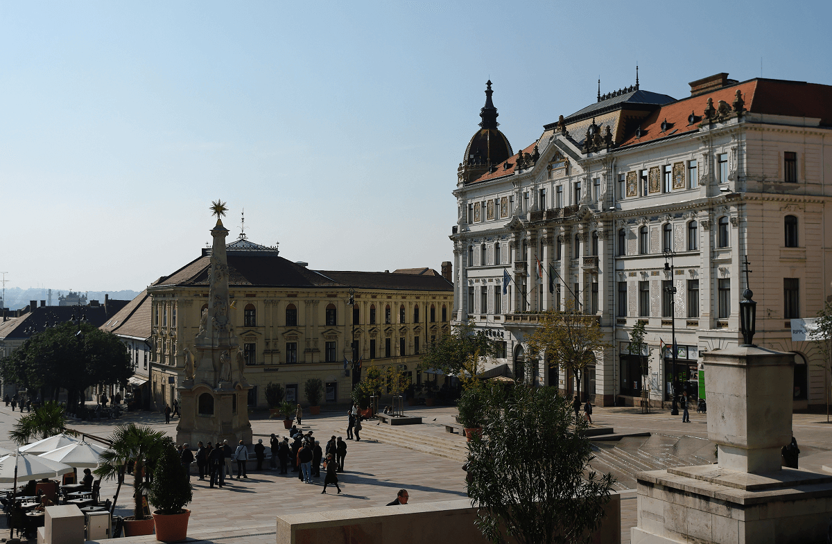 Best value destinations 2016: Pecs, Hungary