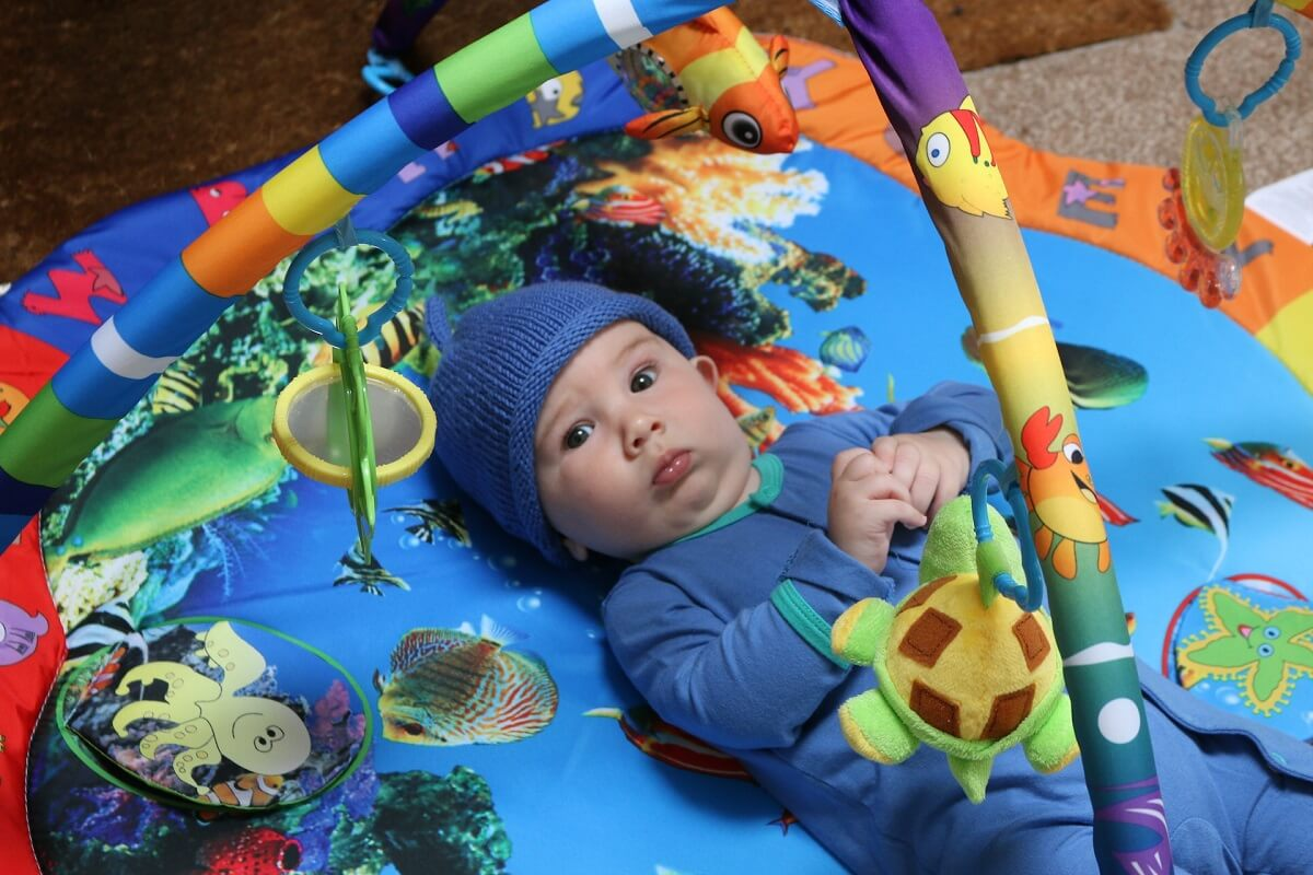 Family-friendly hotels - baby mat