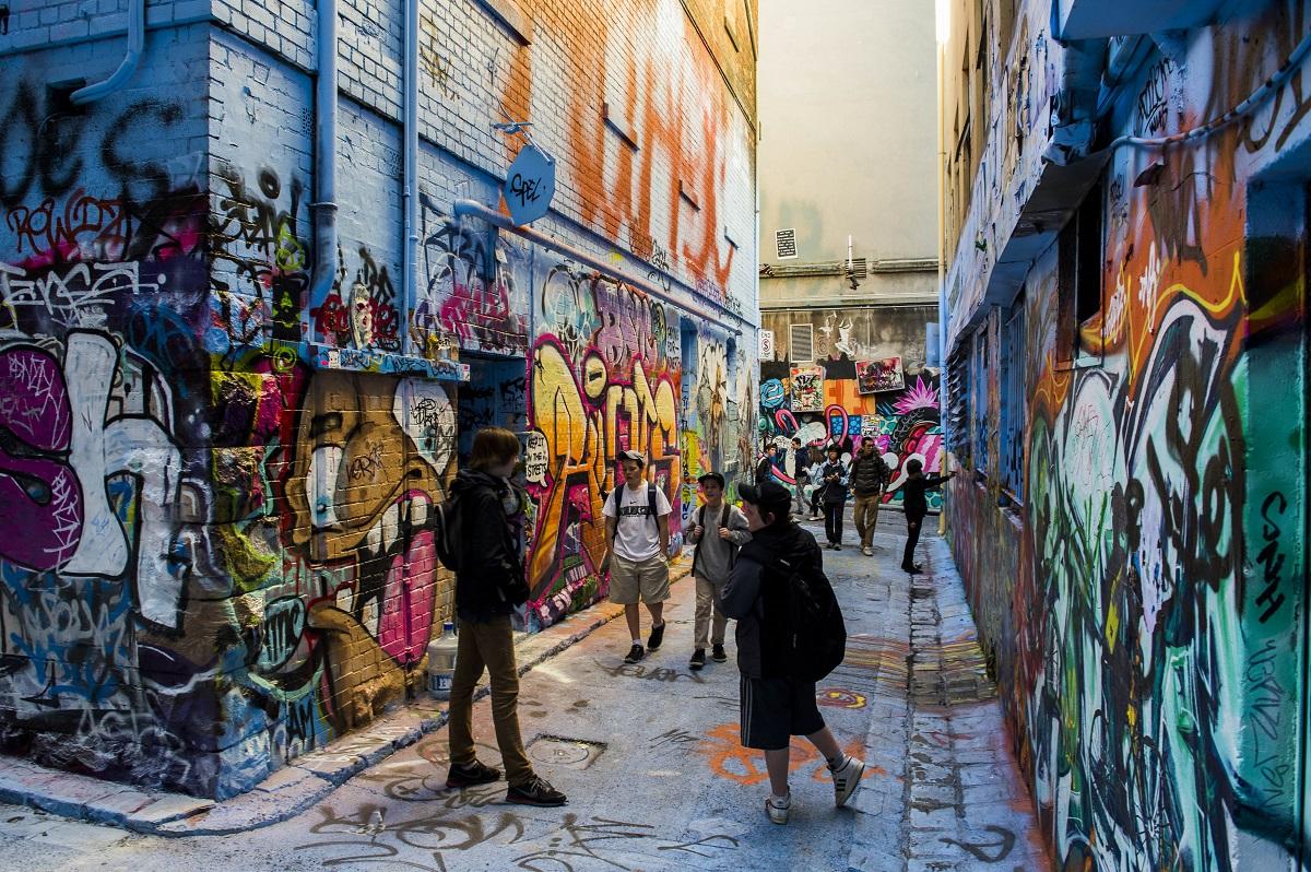 Alternative guide to Melbourne