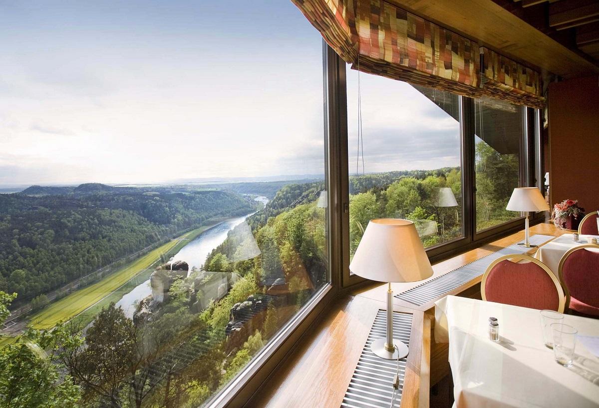 hoteles para senderistas-berg hotel vistas