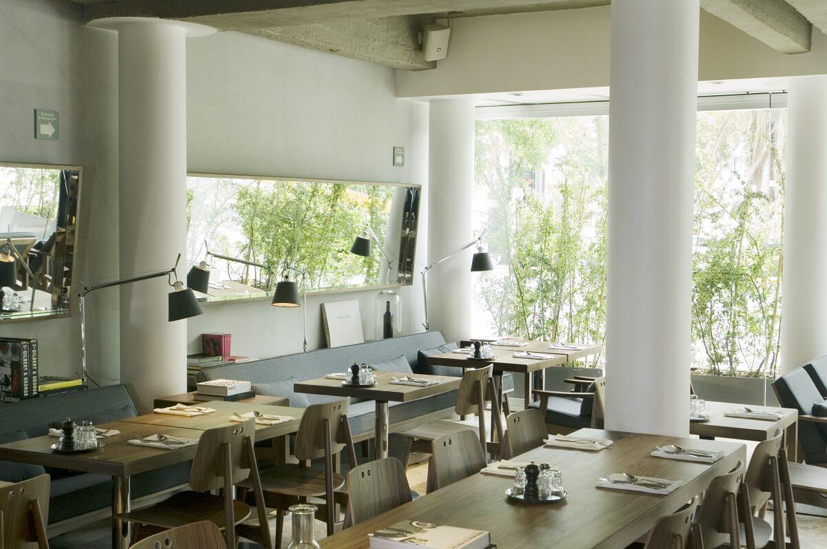 Restaurant Lobby Hotel Habita México