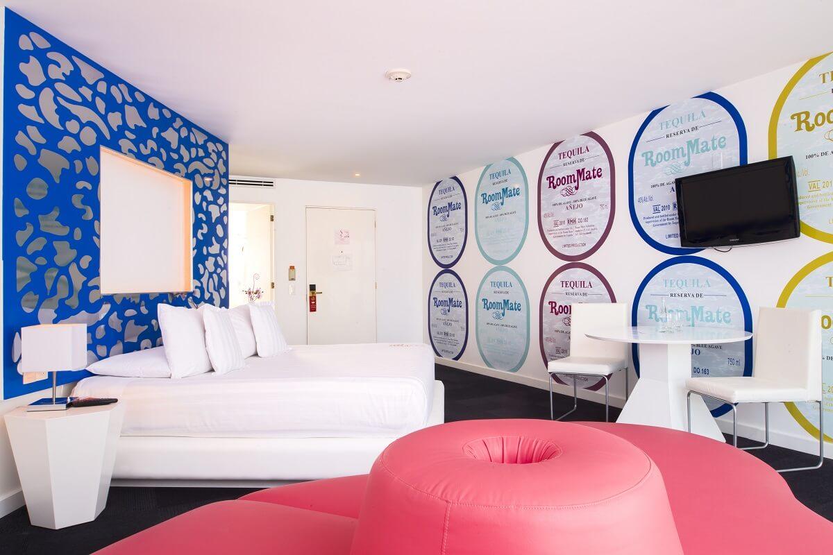 Los 5 mejores hoteles boutique del d f for Ver habitaciones de hoteles