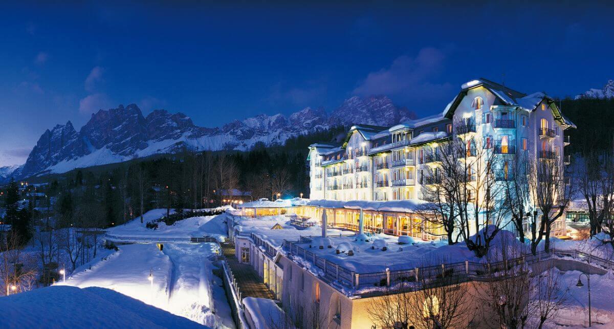 Cortina d'Ampezzo Dolomiti – Estación de esquí Italia