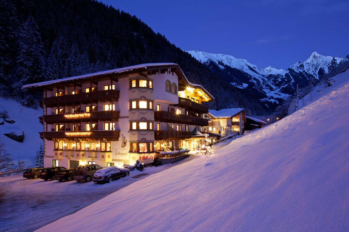 Mayrhofen-Estación de esquí Austria