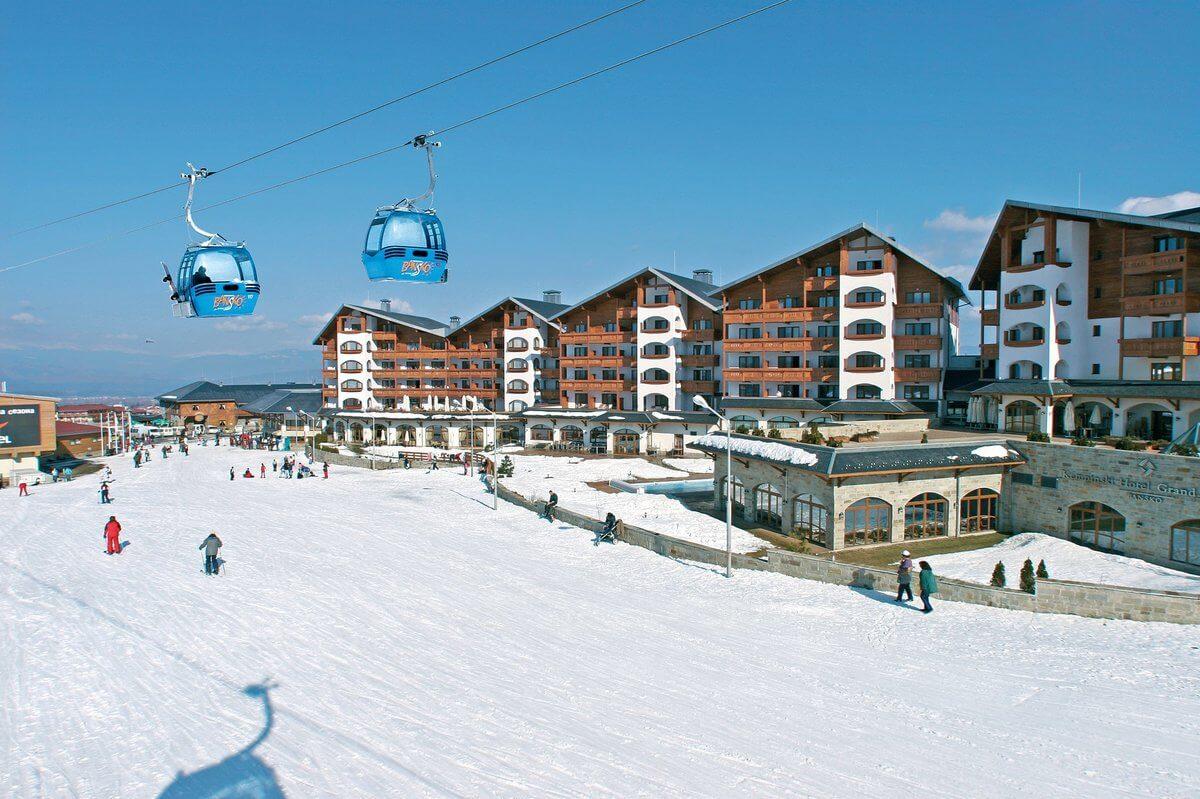 Bansko-Estación de esquí Bulgaria