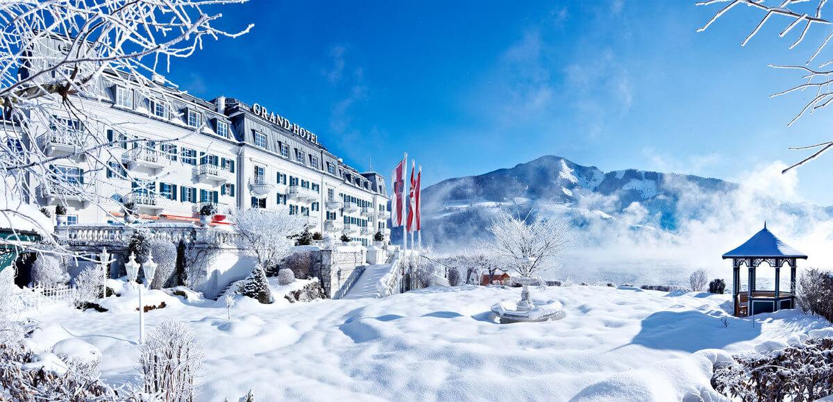 Zell am See- Estación de esquí Austria