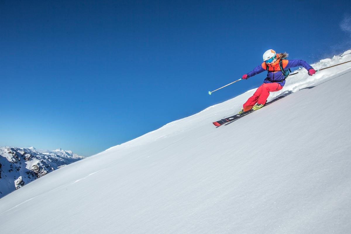 Pista de Esqui no Nevados de Chillán.