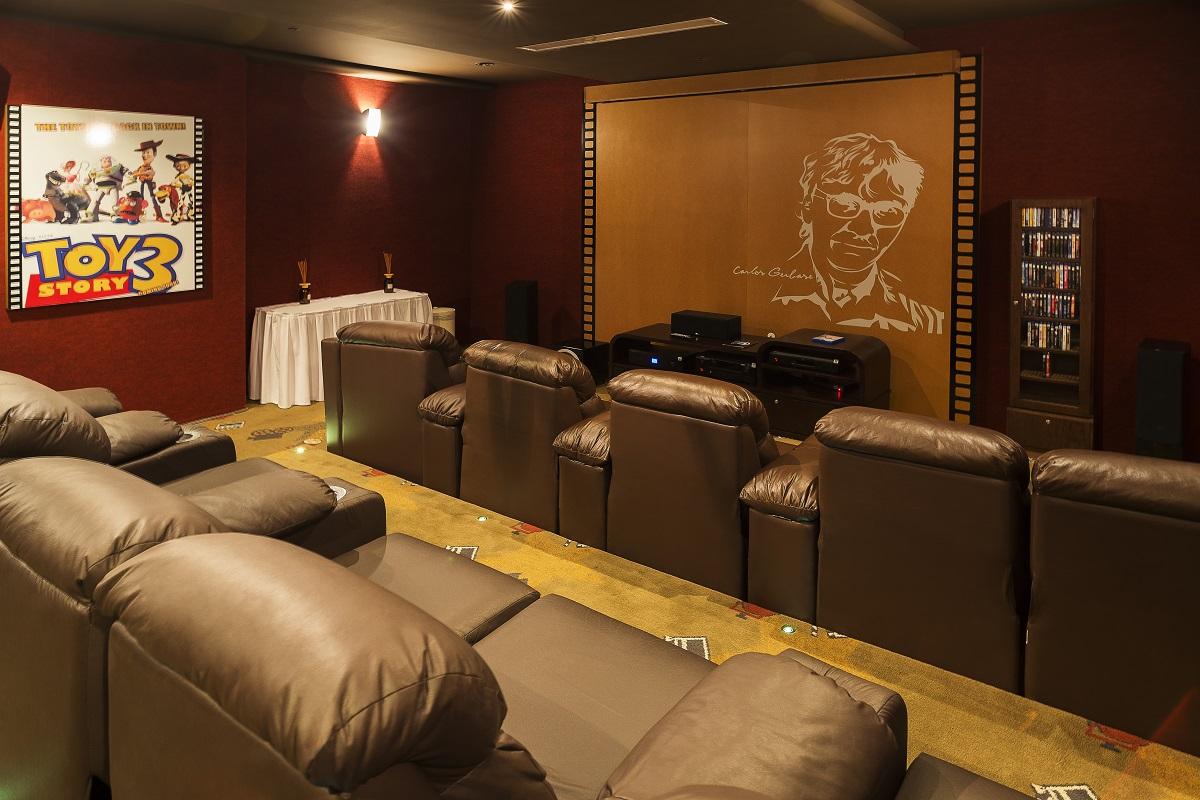 Sala de Cinema - hotel Siena Laghetto - Gramado