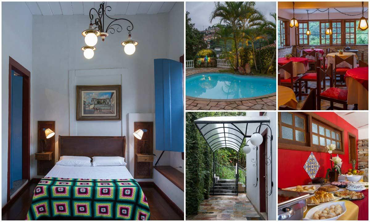 Hotel Arcadia Mineira em Ouro Preto para o ano-novo