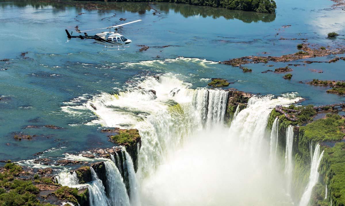 Cataratas do Iguaçu, em Foz do Iguaçu, PR