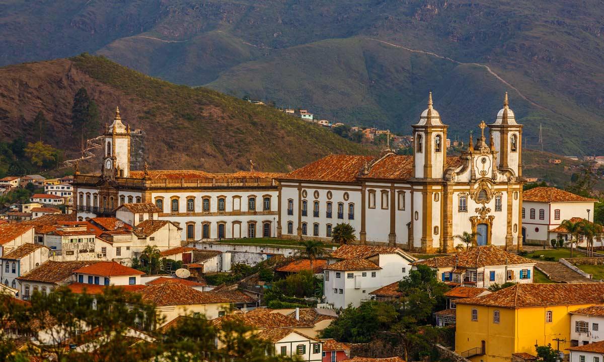 Ouro Preto, em Minas Gerais, para o ano-novo
