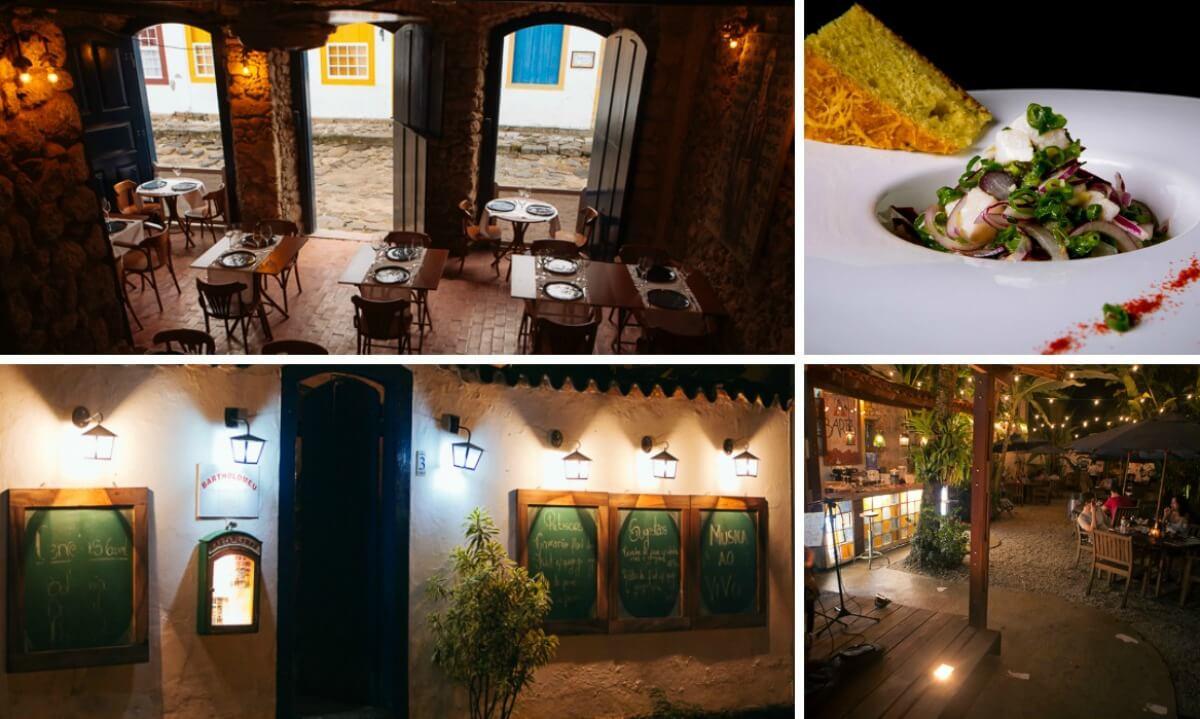 restaurante bartholomeu em paraty