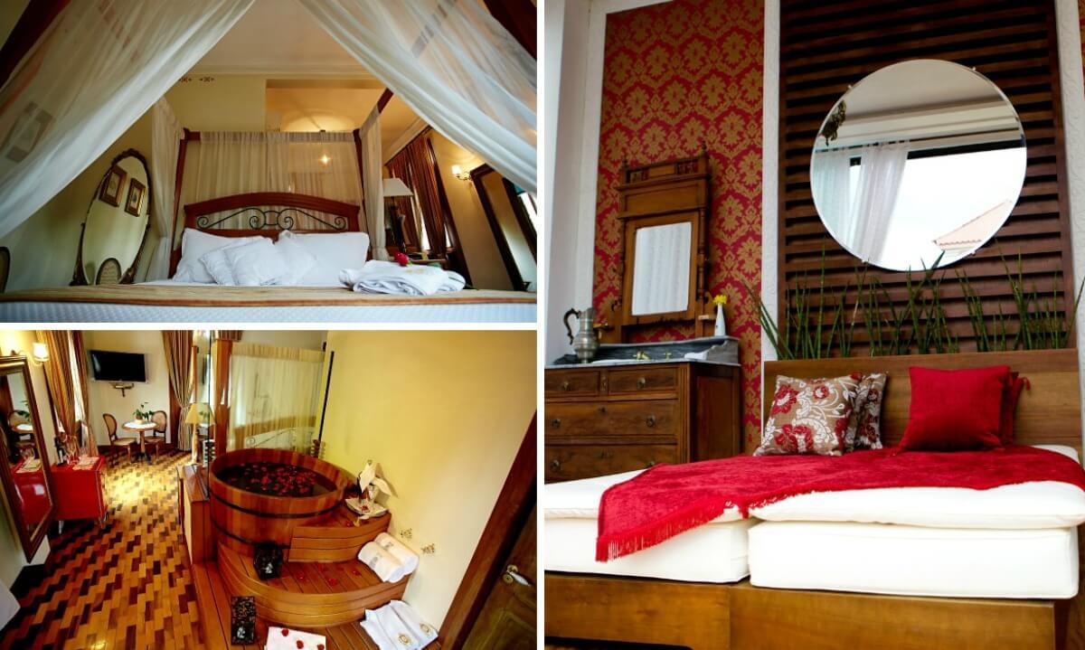 quartos do quinta das videiras hotel na lagoa da conceição em florianopolis