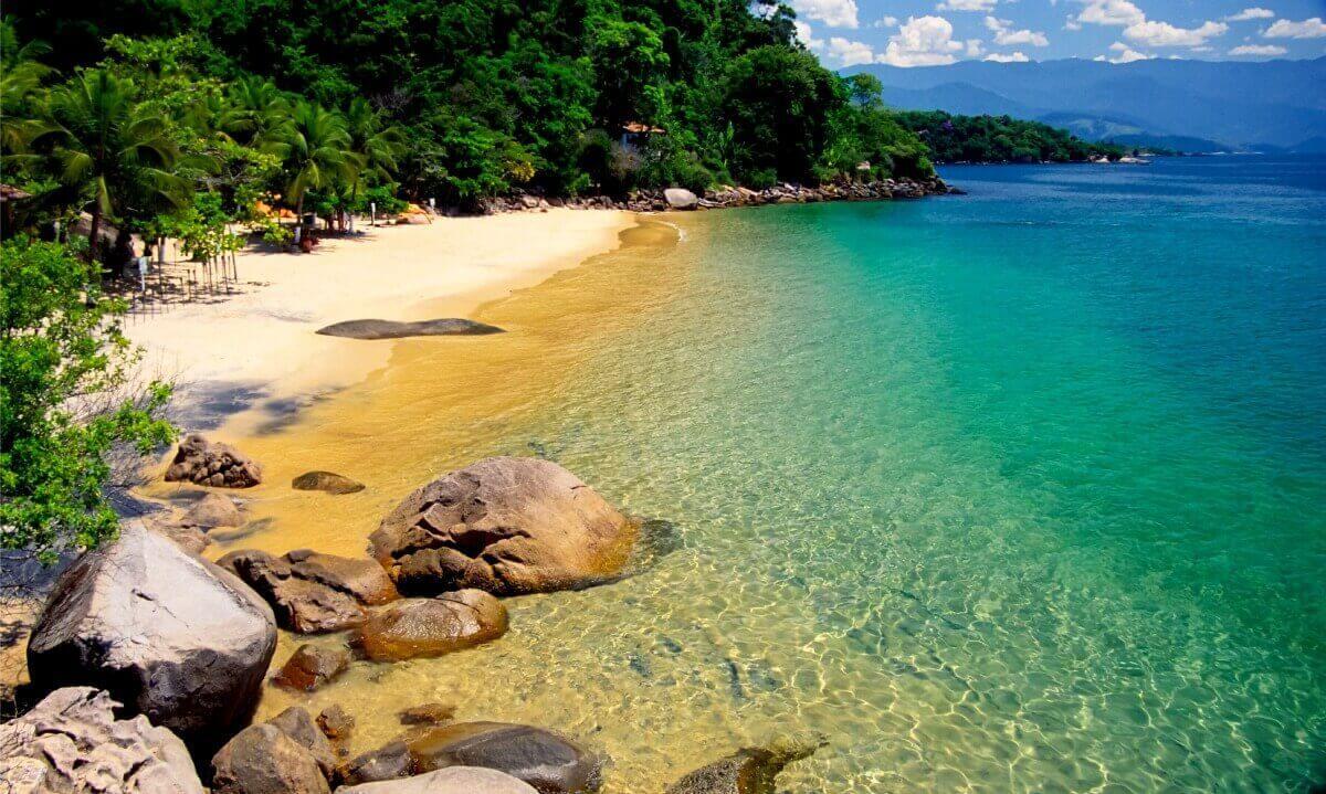 praia Lula em Paraty © André Azevedo / Secretaria de Turismo Paraty