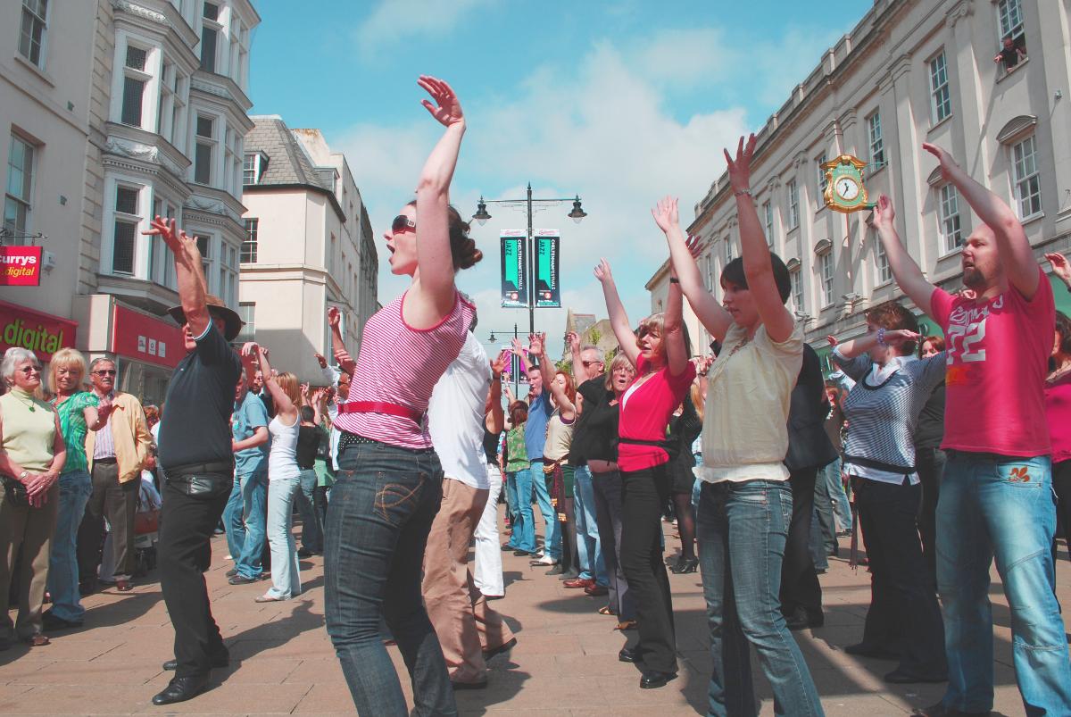 evlilik teklifi - flashmob