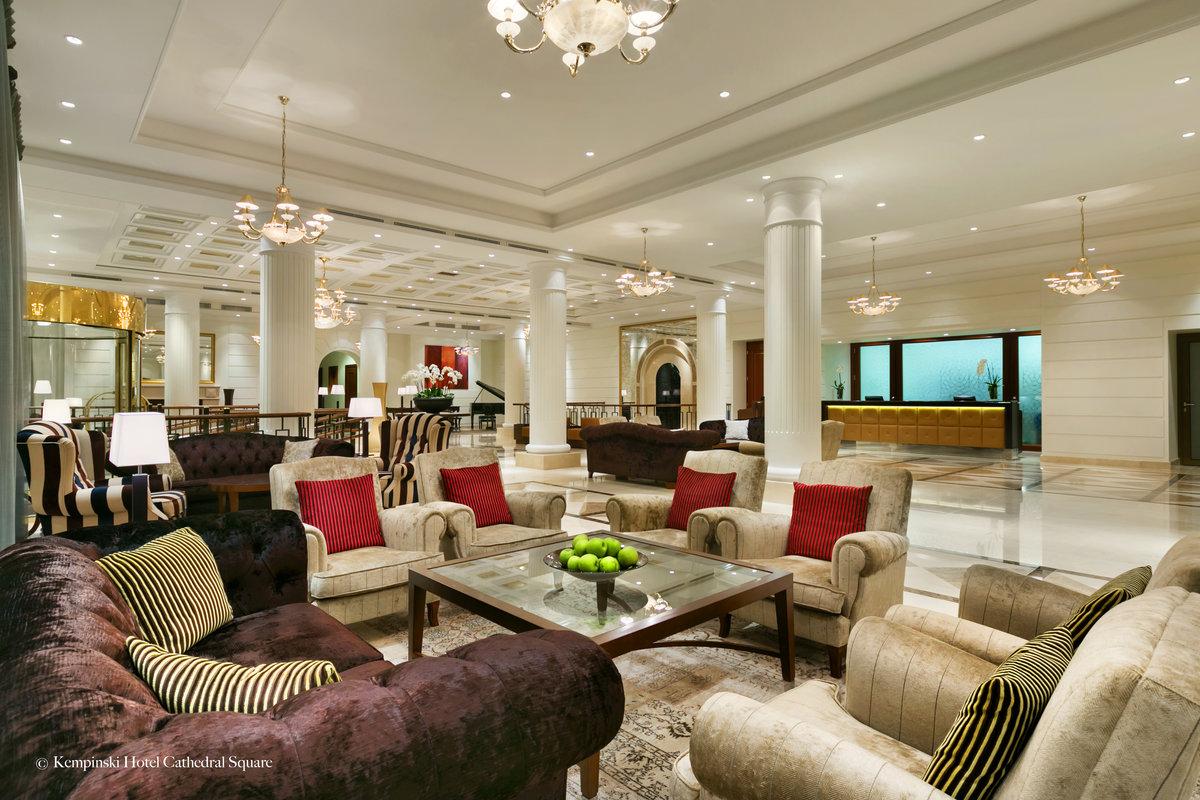 Hotelli Kempinskin aula